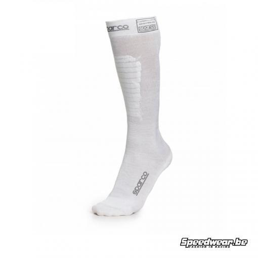 Sparco Compression Socks - Drukkousen - Wit