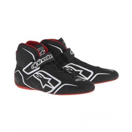 Alpinestars Tech 1Z Autorace schoen zwart wit rood