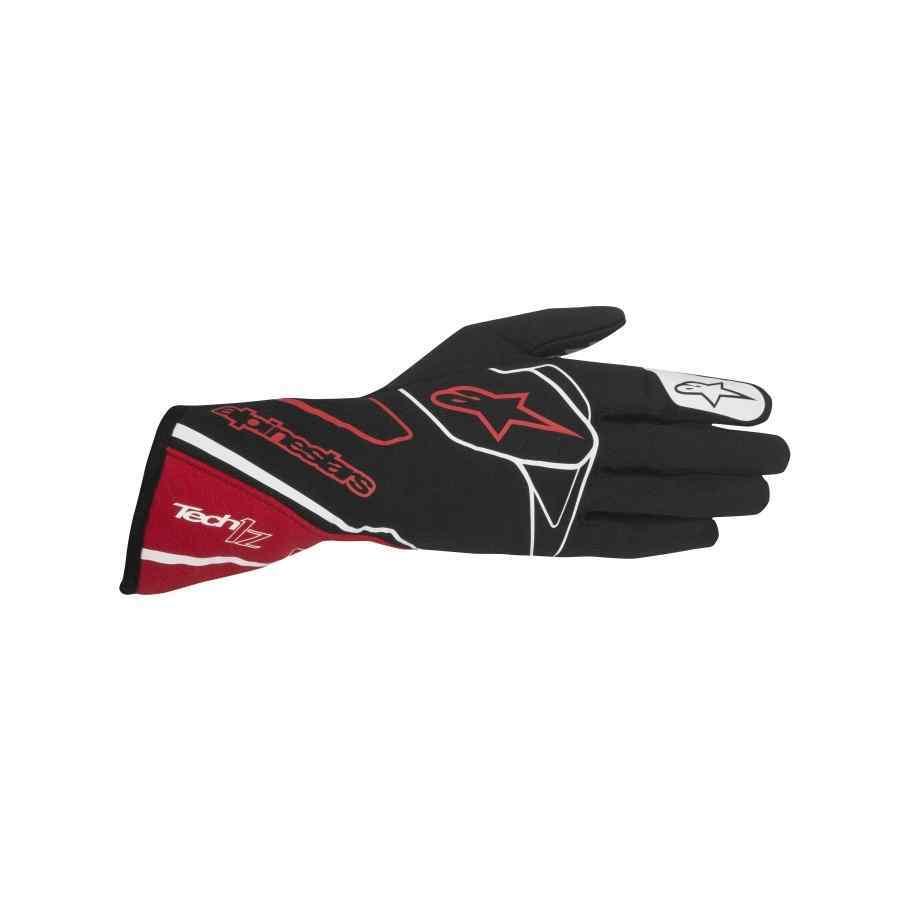 Alpinestars handschoen rallysport Tech 1Z Zwart Rood Wit