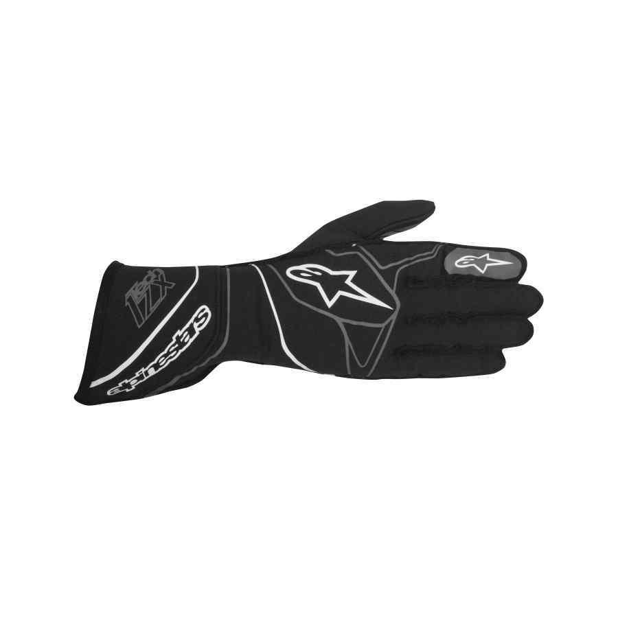 Alpinestars Tech 1-ZX FIA autosport handschoen Zwart Wit