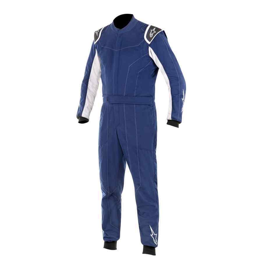 Alpinestars Delta FIA Autosportoverall blauw basic model