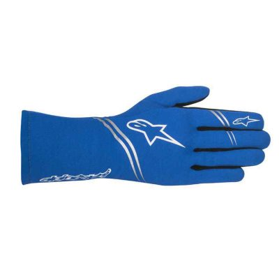 Alpinestars Tech 1-Start Handschoen trackdays Blauw Wit