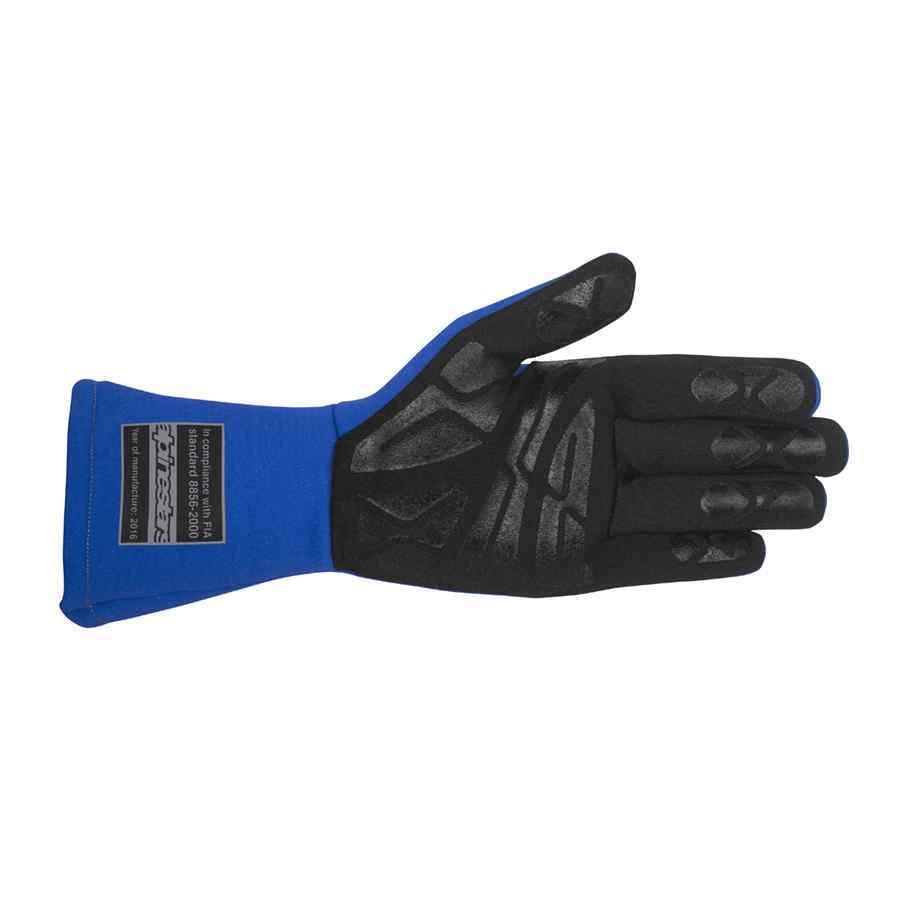 Alpinestars Tech 1-Start Handschoen trackdays - Blauw-Wit