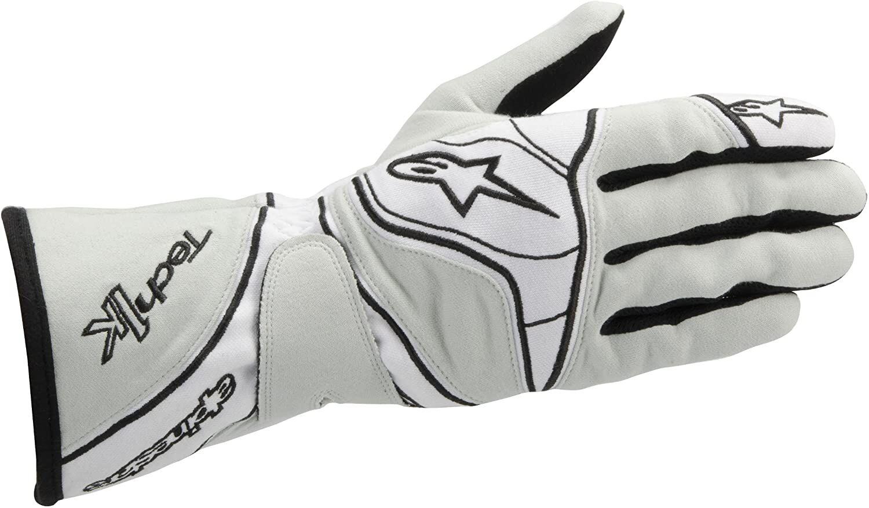 Alpinestars Tech 1-K Gloves Gray/White