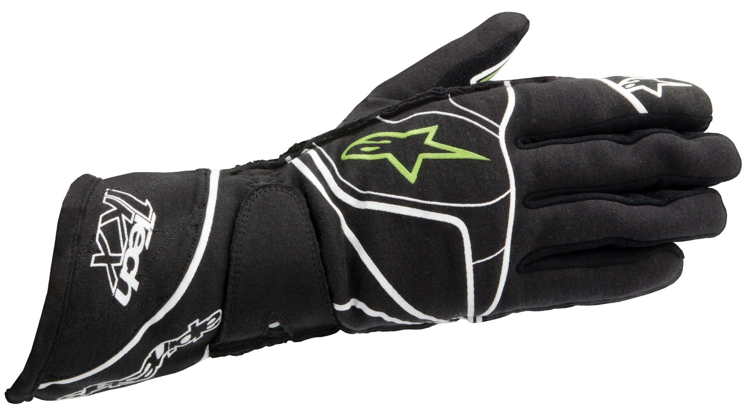 Alpinestars Tech 1-KX Gloves Anthracite Green