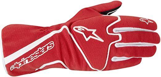 Alpinestars Tech 1-K Race S.Gloves Red/White