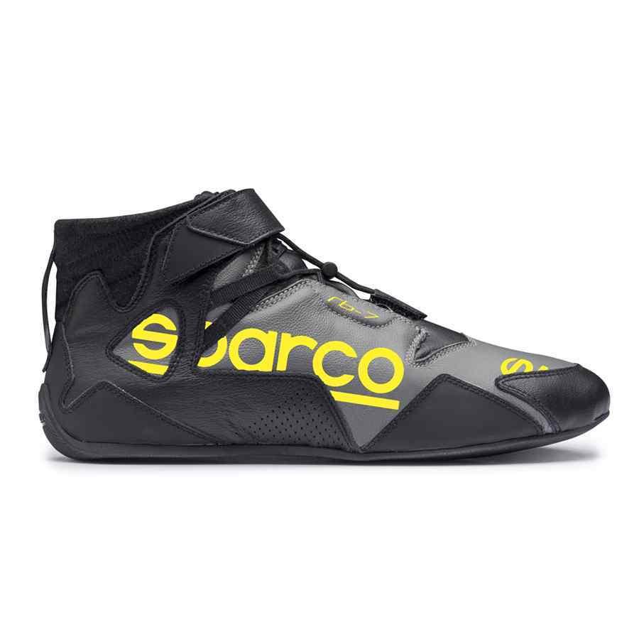 Sparco Apex RB 7 raceschoen zwart geel - Premium