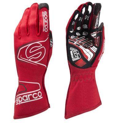 Sparco racehandschoen voor karting Arrow KG 7.1 rood wit zwart