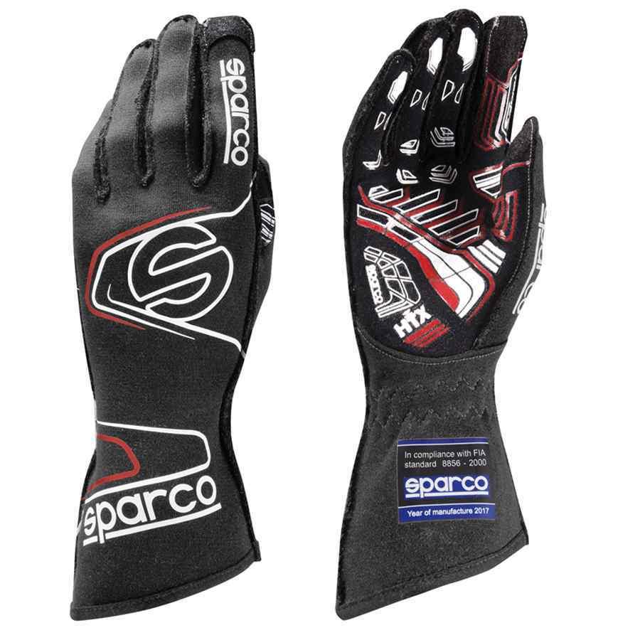 Sparco Arrow RG-7 Racehandschoenen Zwart Rood