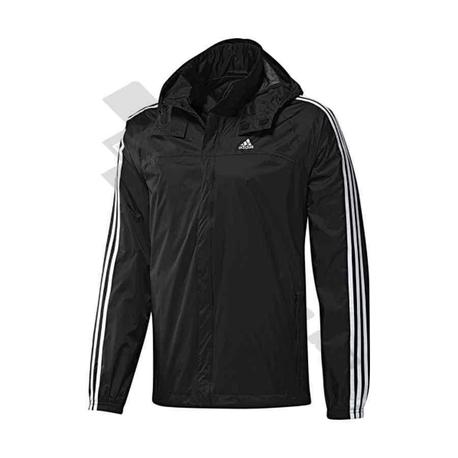 adidas rain jacket black. Black Bedroom Furniture Sets. Home Design Ideas