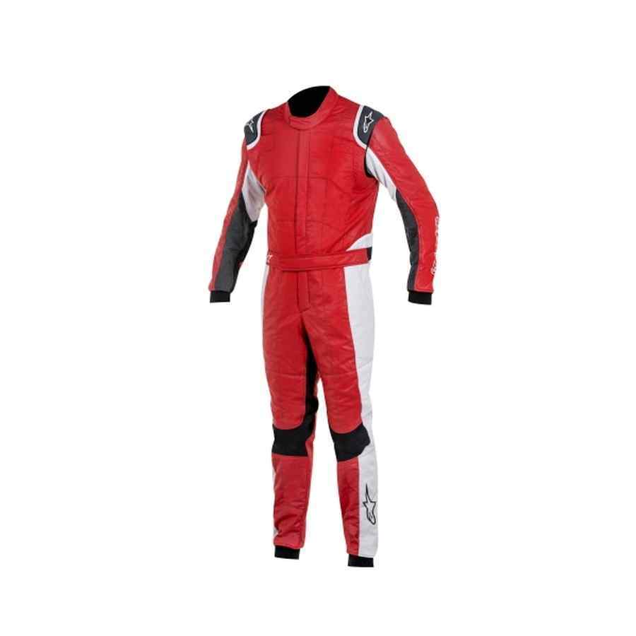 Alpinestars GP Tech FIA Raceoverall Rood Zilver Anthraciet