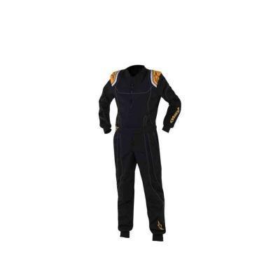 Alpinestars KMX 9 S kinder overall zwart fluo oranje