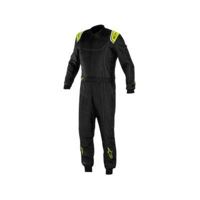 Alpinestars KMX 9 racepak voor karting zwart anthraciet fluo geel