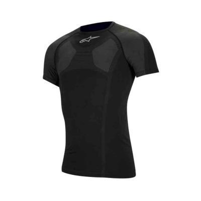 Alpinestars KX Karting sport t-shirt Korte Mouw - Zwart