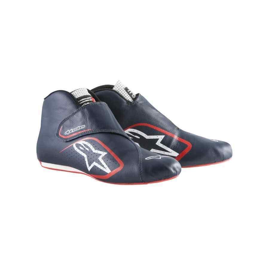 Alpinestars Supermono Autosportschoen Navy Wit Rood