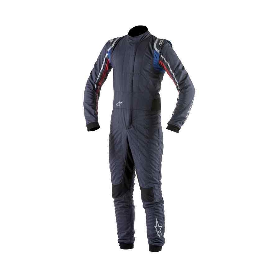 Alpinestars Supertech Fia Race Suit Navy Wit Rood