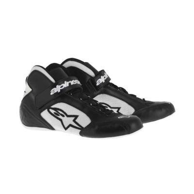 Alpinestars Tech 1-K kartschoenen zwart wit zwart