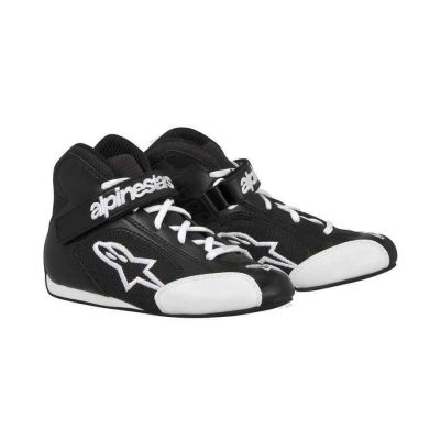 Alpinestars Tech 1-KS Kinder Kartingschoenen - Zwart-Wit