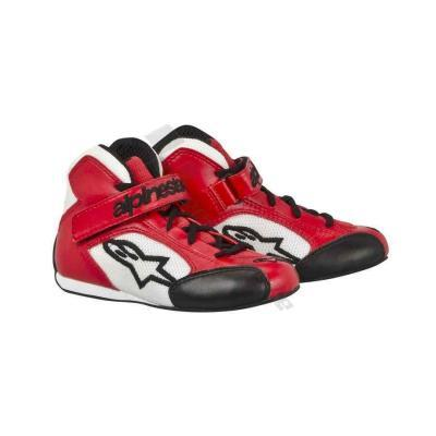 Alpinestars Tech 1-KS Kinderkartschoen - Rood-Wit