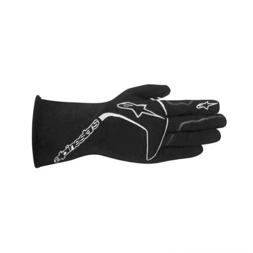 Alpinestars Tech 1 Race FIA Autosporthandschoen Zwart Wit