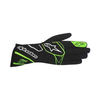 Alpinestars handschoen voor karting type Tech 1 k zwart fluo groen