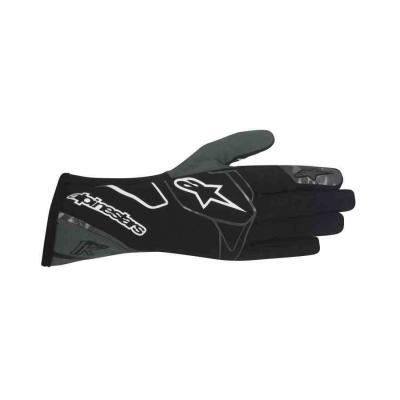 Alpinestars Tech 1 k karting handschoen zwart anthraciet wit