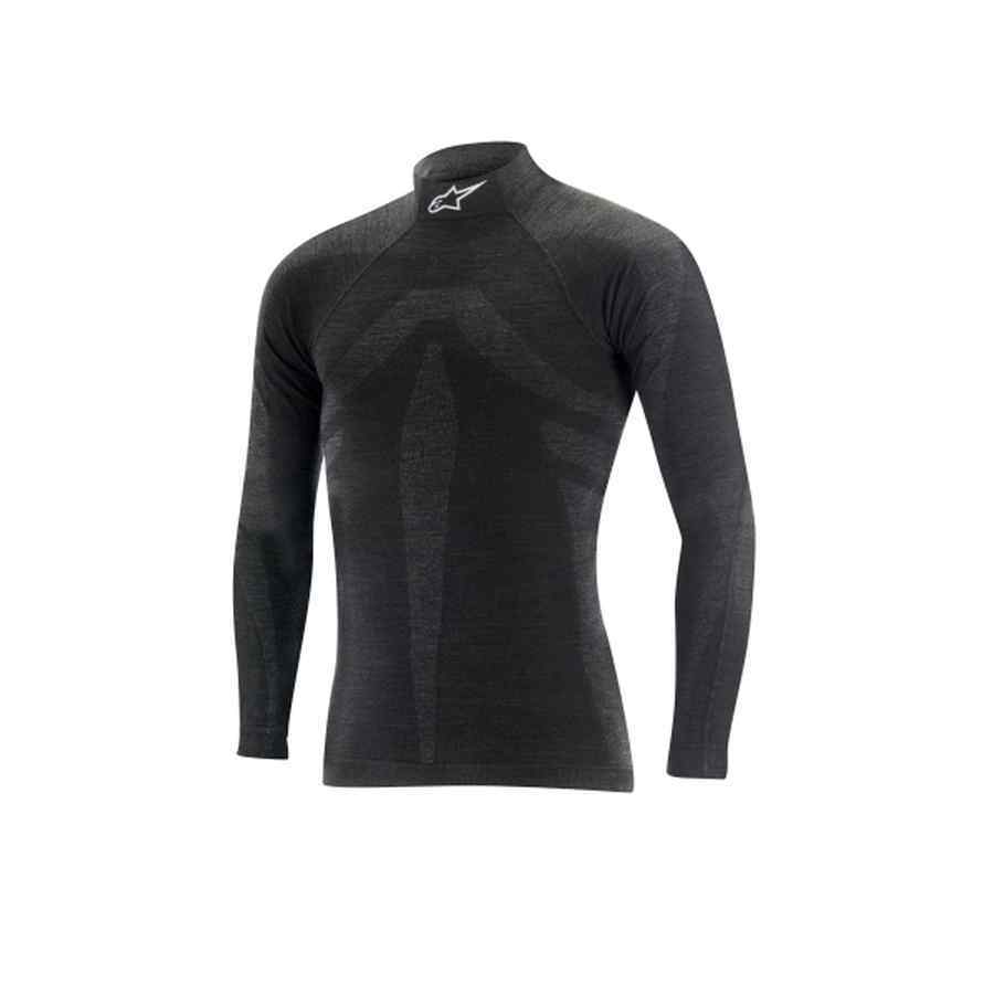 Alpinestars ZX Top Nomex Brandvertragend T-shirt Zwart