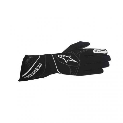 Alpinestars tech 1 kx handschoen karting zwart wit