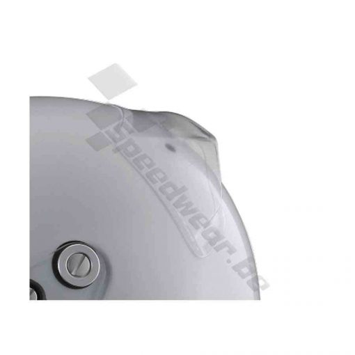 Arai achterspoiler transparant monteerbaar op alle Arai helmen