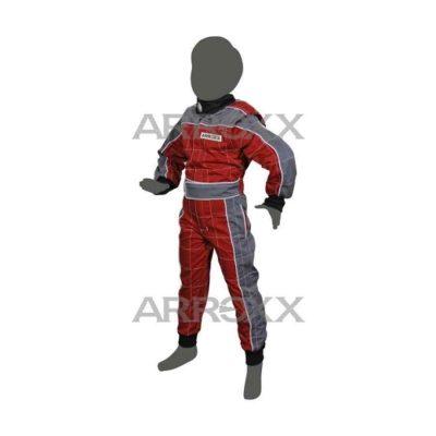 Arroxx Kart Pak Katoen Xbase - Junior - Rood Grijs