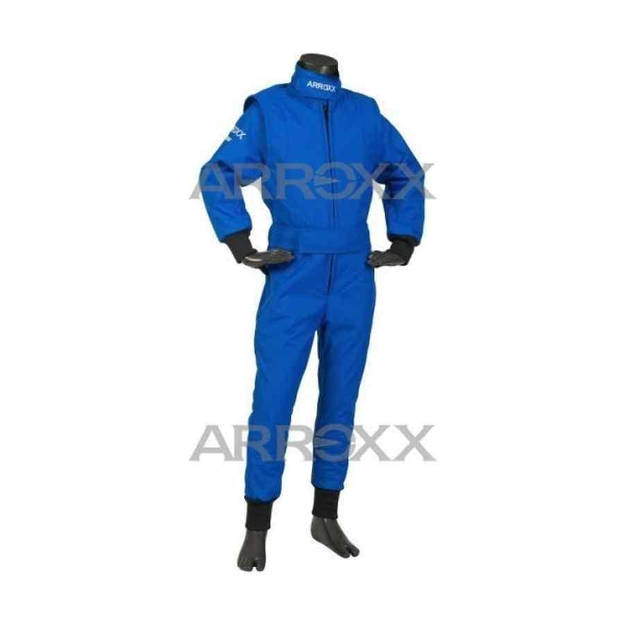 Arroxx kinderoverall 1 kleur blauw - Kleur blauw olie ...