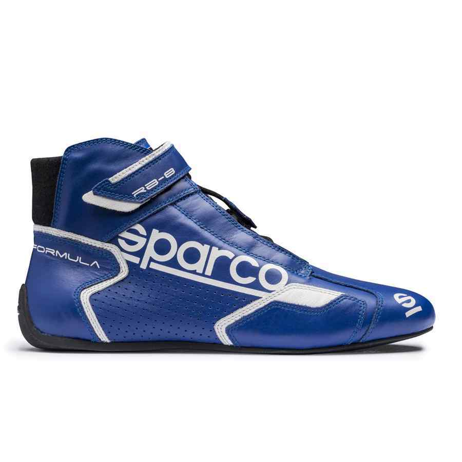 Sparco Formula RB-8 Rallyschoen - blauw wit