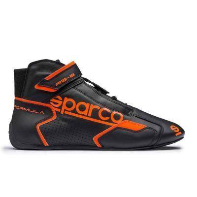 Sparco Formula RB 8 Autosportschoen zwart fluo oranje