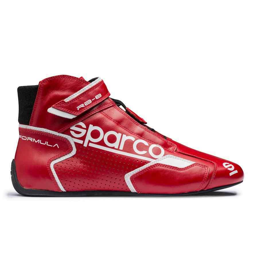 Sparco Formula RB-8 Autosportschoen - Rood Wit