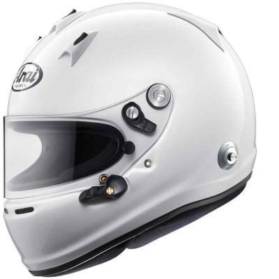 Racing helmen