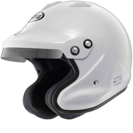 Arai helm GP Jet 3 Open helm - Wit zonder hans clips