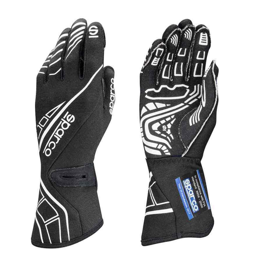 Sparco type lap RG5 Rallyhandschoenen Zwart Wit