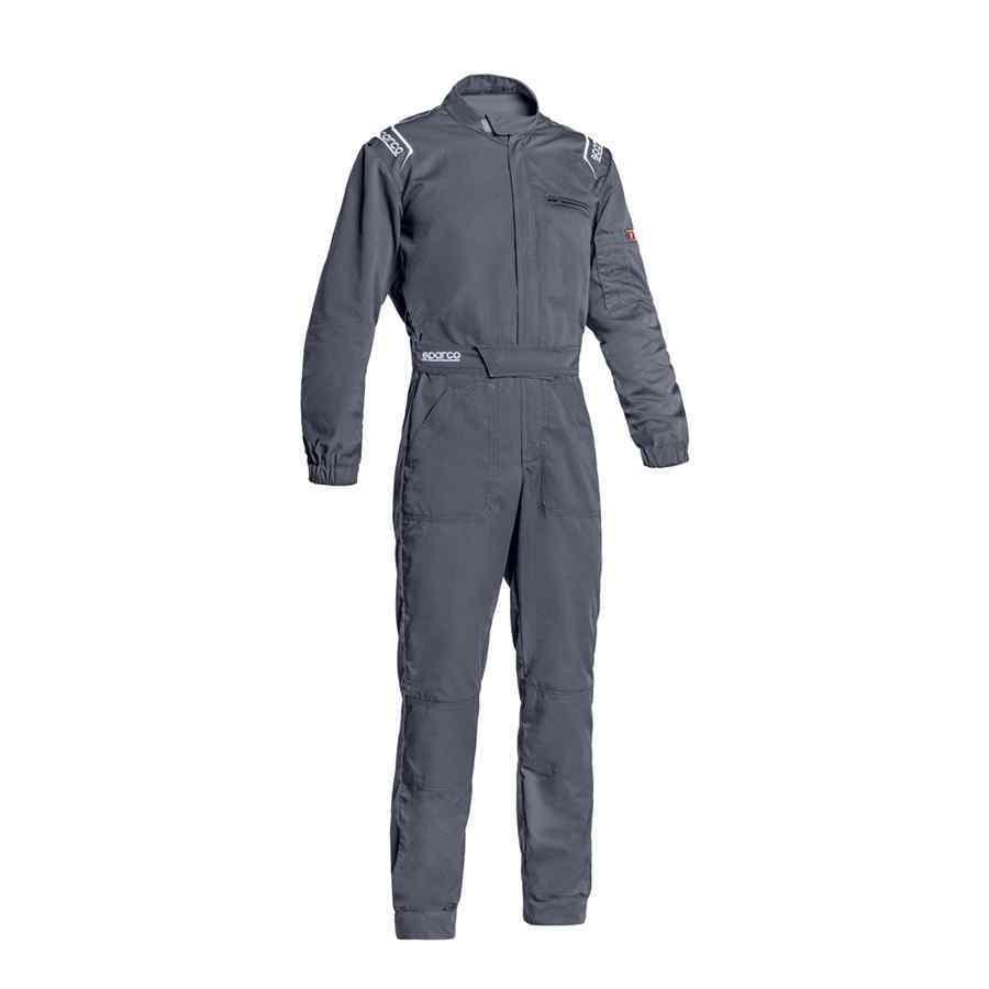 Sparco type MS-3 overall voor monteurs kleur grijs
