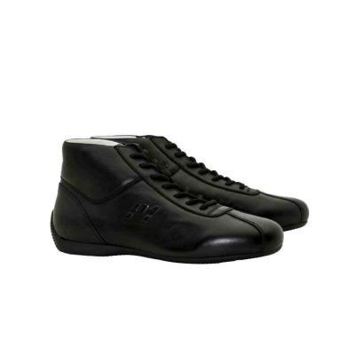 P1 Advanced Racewear - Mito - Black - FIA homologatie Zéér stijlvolle racingschoen, 100 % italiaans design, vervaardigd van soepel leder.