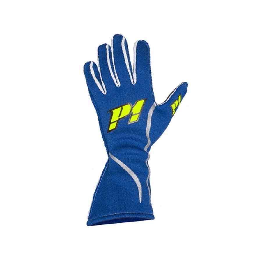 P1 Advanced Racewear - racinghandschoen - Blauw