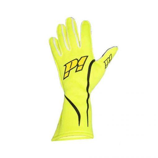 P1 Handschoen voor rallysport type Grip - Fluo geel
