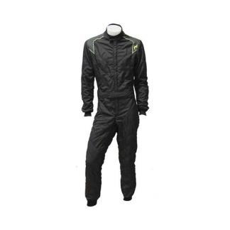 P1 Advanced racewear type RS GT FIA race overall Zwart Anthraciet