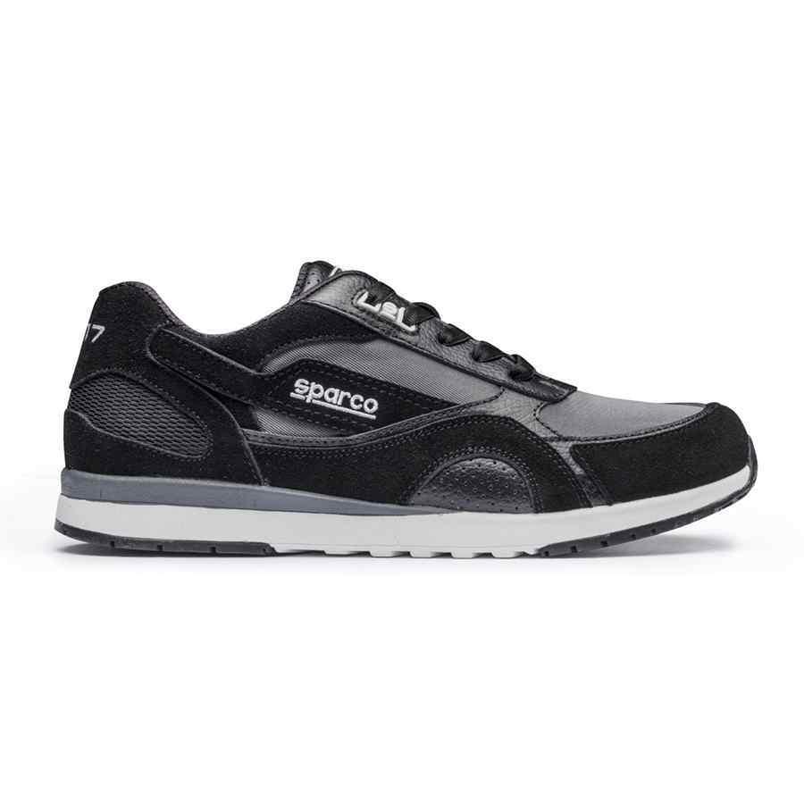 Sparco SH 17 teamwear sportieve schoen met veters zwart