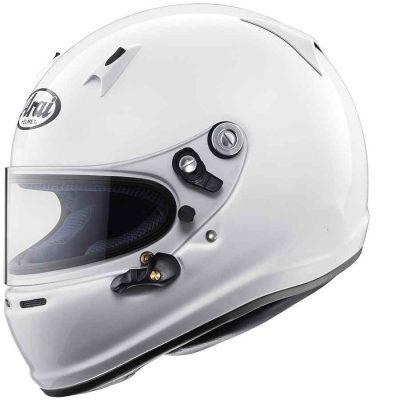 Arai SK6 karthelm voor indoor en outdoor kleur wit