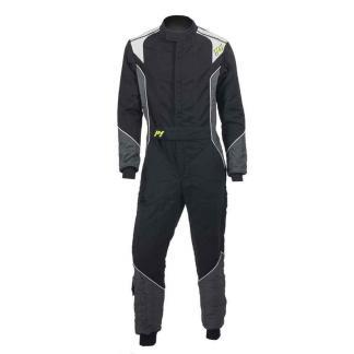 P1 Advanced racewear racing suit type Smart X2 - Zwart/ Anthraciet