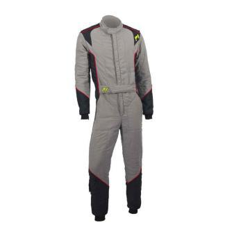 P1 Advanced racewear racing suit type Smart X2 - Zilver/ Zwart