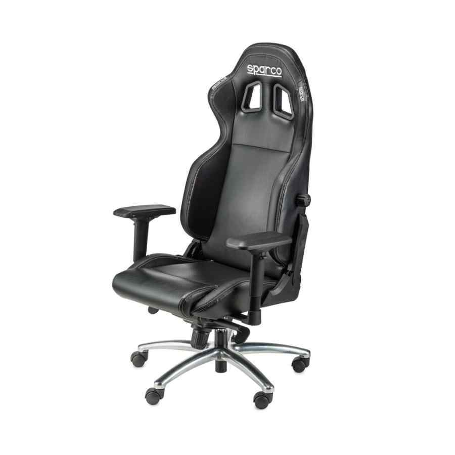 Bureaustoel Met Verstelbare Rugleuning.Sparco R100 S Comfortabele Bureaustoel In Hoogte Verstelbaar