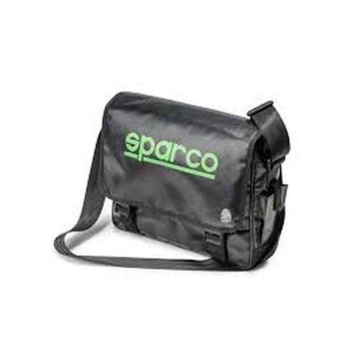 Sparco Galaxy Schoudertas - Zwart Fluo Groen