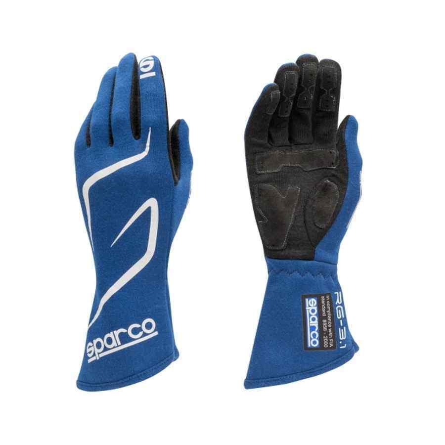 Sparco Land RG-3.1 FIA handschoen - Blauw