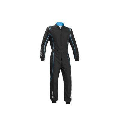 Sparco race suit karting type Groove KS3 zwart cyaan